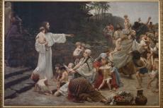 Isus prijatelj malenih, 1888., Muzej franjevačkog samostana, Tomislavgrad