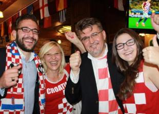 S lijeva: Metju, Marta, Veselko i Ana Maria Grubišić; foto: www.ottawacitizen.com