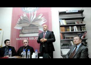 Dr. Vinicije Lupis - Promocija knjige Male Gospe